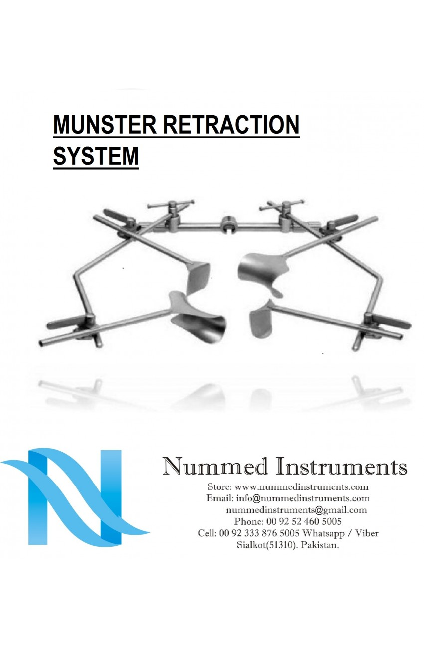 Munster Retraction System Complete SetSurgical Kits