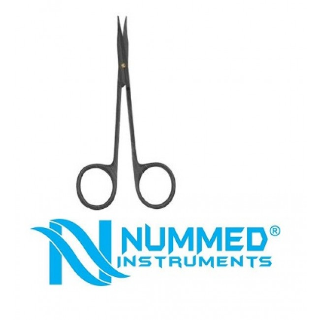 Plasma Coated Stevens Scissor With Tungsten Carbide (T/C Blades W/ 1 Micro Serrated Blade)