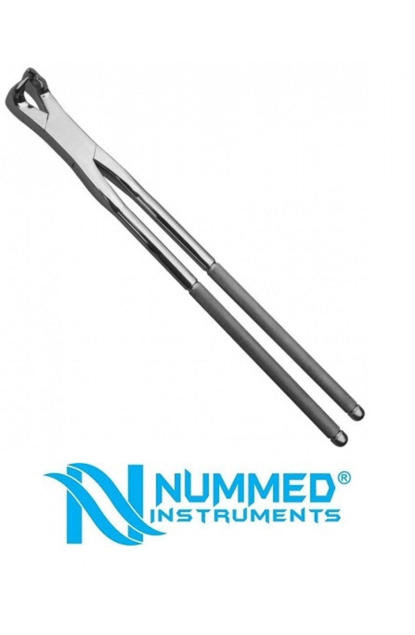 19 Inch Three Prong Forceps ,LeftMolar Forceps